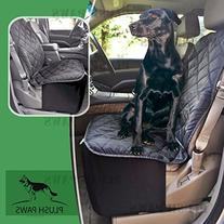 Plush Paws Co-Pilot Pet Car Seat Cover for Bucket Seats with