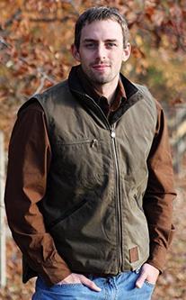 Outback Trading Men's Sawbuck Vest - Dark Green