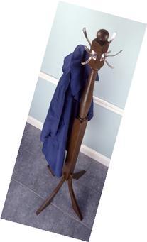 Coat Tree Rack - Walnut