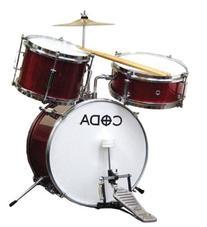 CODA DS-010-R 3-Piece Drum Set