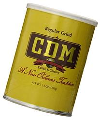 CDM Coffee & Chicory, Regular Grind, 13-Ounce Cans
