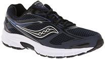 Saucony Men's Cohesion 8 Running Shoe, Navy/Black/Silver, 10