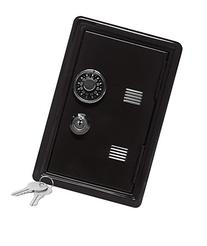 Kid's Coin Bank Locker Safe with Combination Lock and Key -