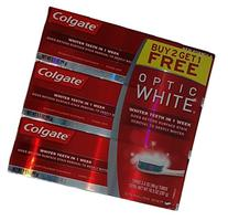 Colgate Optic White Toothpaste, Sparkling Mint, 3.5 Ounce