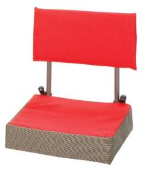 Stansport Coliseum Seat, Red/Gray