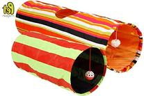 Collapsible Cat Tunnel Toys  - Pet Tunnels and Tubes With