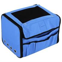 Pawhut Collapsible Folding Soft Portable Pet Crate Carrier