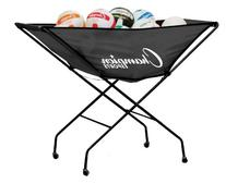 Champion Sports Collapsible Volleyball Storage Cart