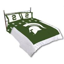 Michigan State Reversible Comforter Set -Queen by College