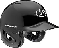 Rawlings 90 MPH College/High School Batting Helmet, Black,