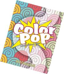 Color Pop Advanced Designs & Patterns Adult Coloring Book
