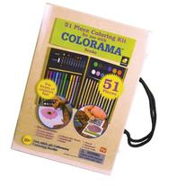 Colorama 51-Piece Coloring Kit