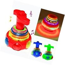 JOMTOP 1PCS Baby Colorful Light And Music Gyro Peg-Top