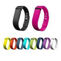 Ecsem® New 10pcs Colorful Large Replacement Wristband Band
