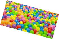 50 Pcs Colorful Soft Plastic Ocean Fun Ball Balls Toy Ball