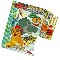 Lion Guard Coloring and Activity Book with 2 Poster, Lion