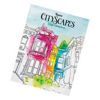 Darice Coloring Book-Cityscapes