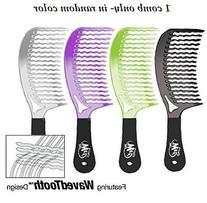 The Wet Comb Detangling Hair Comb - Metallics Collection