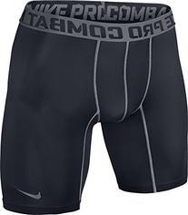 """Nike Men's Pro Core 2.0 Compression 6"""" Shorts, Carbon"""