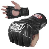 Ringside Combat Sports Pro Style MMA Gloves, Black, Small