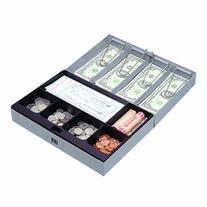 Sparco Combination Lock Cash Box, Steel, 11-1/2 x 7-3/4 x 3-