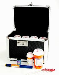 Vaultz Combination Locking Medication Safe Box
