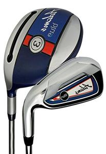 Adams Golf Blue Left Handed Combo Irons 3,4, 5-PW Graphite