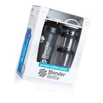 BlenderBottle Combo Pack 28-Ounce Bottle and 3-Piece GoStak