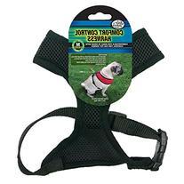 Four Paws Medium Black Comfort Control Dog Harness