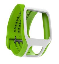 TomTom Cardio Comfort Strap Bright Green/White, One Size