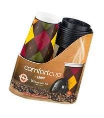 Chinet Comfortcup Insulated Cups and Lids 10CT