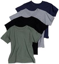 Hanes Men's ComfortSoft Tagless Dyed T-Shirts, Assorted