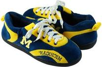 Comfy Feet NCAA All Around Slippers - Michigan Wolverines