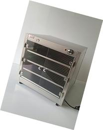 HeatMax 24x24x24 Commercial Hot Box Food Warmer with Acrylic