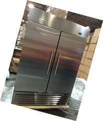 GenKraft Commercial Freezer - Double Solid Door 49 Cu. Ft