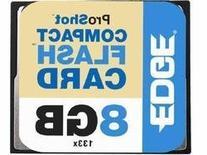 EDGE 8gb 133x Compact Flash Cf Memory Card Flash Memory Card