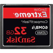SanDisk 32 GB Compact Flash Memory Card SDCFX-032G-X46