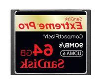 SanDisk 64GB Extreme Pro CompactFlash Card - UDMA 90MB/s