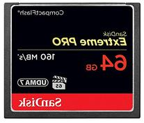 SanDisk Extreme PRO 64GB Compact Flash Memory Card UDMA 7