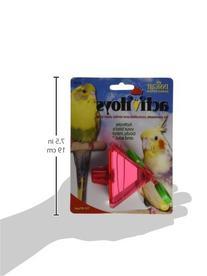 JW Pet Company Activitoy Tilt Wheel Small Bird Toy, Colors
