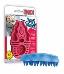Kong Company DKO51111 Zoom Groom Firm Rubber Dog Brush