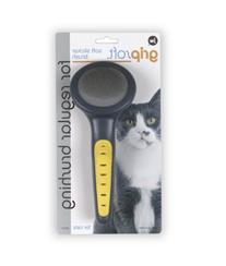 JW Pet Company GripSoft Cat Slicker Brush