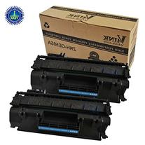 V4INK 2 Pack Compatible Replacement for HP 05A CE505A Toner
