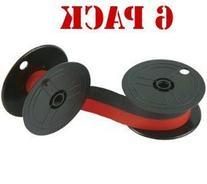 New Compatible Nukote BR80C Calculator Ribbon Black/Red  For