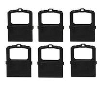 6 Pack of Compatible Print Ink Ribbon Replacement Cartridge