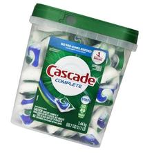 Cascade Complete All-in-1 Actionpacs Dishwasher Detergent,