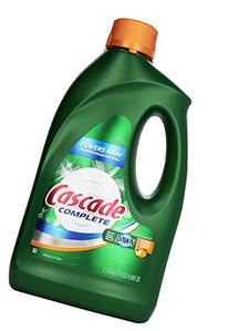 Cascade Complete All-In-1 Gel Dishwasher Detergent, Citrus
