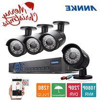 ANNKE New AHD 8CH 1080N Surveillance DVR System + 4x 960P