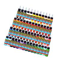 Solong Tattoo® 54 Colors Complete Tattoo Ink Set Pigment