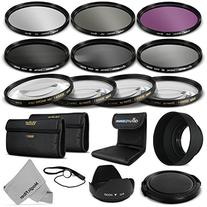 52MM Complete Lens Filter Accessory Kit for NIKON D3300